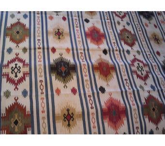 South western kilim 8x10 flat weave