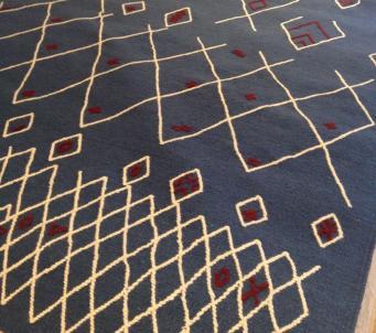 Spectacular Beni Ourain style 7 x9 area rug