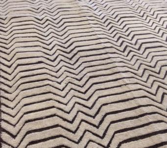 Interesting Moroccan Beni Ourain Tribal rug