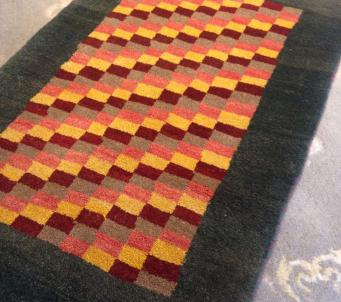 Colorful Persian Gabbeh 3' x4' Hand knotted Original