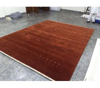 Copper Indo Gabbeh wool 8' x10' -Sold