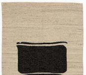 Modern style white & brown 2'x3'