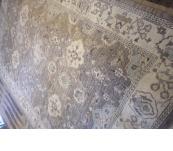 Peshawar Khotan rug reapeat design hand knotted 6 x9