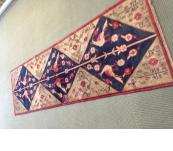 Persian Tribal 8' runner interesting rug