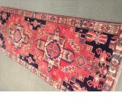 Heriz Persian Runner all wool 3'.5 x 10' hall way rug