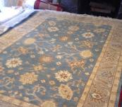 Oushak 6' x 9' hand knotted rug