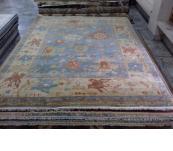Oushak 9 x12 Blue fine wool