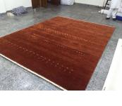 Copper Indo Gabbeh wool 8' x10'